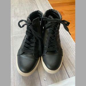 Steve Madden Shoes/Euriah black high tops
